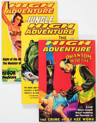 High Adventure #79-104 (Adventure House, 2004-09) Condition: Average NM-.... (Total: 26 Items)