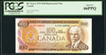Canadian Currency: , BC-52aA-i $100 1975 Replacement Note AJX Prefix. ...