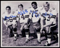 Football Collectibles:Photos, Dallas Cowboys Defensive Legends Multi-Signed Oversized Photograph....