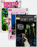 Bronze Age (1970-1979):Horror, Sinister House of Secret Love/Secrets of Sinister House Group of 8(DC, 1971-73).... (Total: 8 Comic Books)