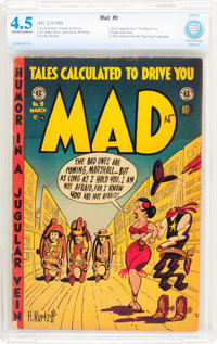 MAD #9 (EC, 1954) CBCS VG+ 4.5 Off-white to white pages