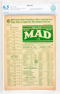 MAD #19 (EC, 1955) CBCS FN+ 6.5 Off-white to white pages