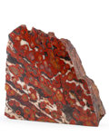"Lapidary Art:Carvings, Red ""Poppy"" Jasper. Morgan Hill. Northern California, USA. 8.11x 3.15 x 8.27 inches (20.60 x 8.00 x 21.00 cm). ..."