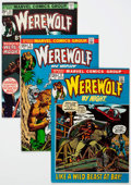 Bronze Age (1970-1979):Horror, Werewolf by Night Group of 32 (Marvel, 1972-77) Condition: AverageVF/NM.... (Total: 32 Comic Books)