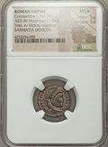 Ancients:Roman Imperial, Ancients: Constantine I the Great (AD 307-337). Æ3 or BI nummus(3.04 gm). ...
