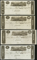 "Obsoletes By State:Ohio, Cincinnati, (OH)- Unknown Issuer ""James Monroe Post Notes"" $1, $2,$3, $5 18__ Remainders. ... (Total: 4 notes)"