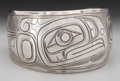 American Indian Art:Jewelry and Silverwork, A Kwakiutl Bracelet. c. 1970...
