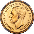 Great Britain, Great Britain: George VI 4-Piece Certified Gold Proof Set 1937,...(Total: 4 coins)