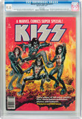 Magazines:Miscellaneous, Marvel Comics Super Special #1 Kiss (Marvel, 1977) CGC VF/NM 9.0White pages....