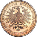 German States:Frankfurt, German States: Frankfurt. Free City 2 Taler 1842 MS64 NGC,...