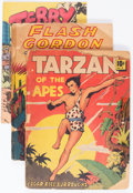 Golden Age (1938-1955):Miscellaneous, Large Feature Comic (Series I) and Feature Books Group of 6 (Dell and David McKay, 1938-42).... (Total: 6 Items)
