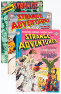 Silver Age (1956-1969):Science Fiction, Strange Adventures Box Lot (DC, 1952-69) Condition: Average VG-....