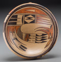 American Indian Art:Pottery, A Hopi Polychrome Bowl. Attributed to Nampeyo. c. 1910...