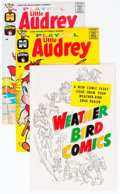 Silver Age (1956-1969):Humor, Playful Little Audrey File Copy Short Box Group (Harvey, 1958-76) Condition: Average NM-....