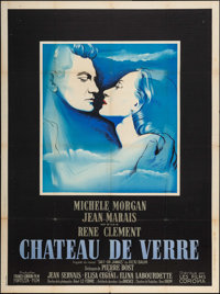 """The Glass Castle (Les Films Corona, 1950). French Grande (46.5 X 63"""") Foreign"""