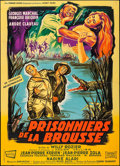 """Movie Posters:Foreign, Prisoner of the Jungle (Les Films Fernand Rivers, 1960). French Grande (45.5"""" X 63""""). Foreign.. ..."""