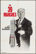 """Movie Posters:Hitchcock, The 39 Steps (Albina Productions, R-1960s). French Half Grande(31.5"""" X 47""""). Hitchcock.. ..."""