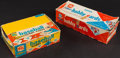 Autographs:Sports Cards, 1950's-60's Topps Baseball Empty Vending Box Pair (2). ...