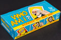"Non-Sport Cards:Singles (Pre-1950), 1967 Topps ""Who Am I?"" (Empty) Wax Display Box. ..."