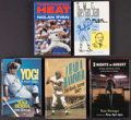 Baseball Collectibles:Publications, Baseball Greats Signed Books Lot of 5. ...