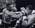 """Boxing Collectibles:Autographs, Mike Tyson Signed Oversized """"Rocky"""" Photograph...."""