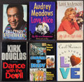Miscellaneous Collectibles:General, Acting Greats Signed Books Lot of 6. ...
