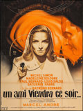 """Movie Posters:Foreign, A Friend Will Come Tonight (Francinex, 1946). French Grande (45.5"""" X 61""""). Foreign.. ..."""