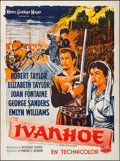 "Movie Posters:Adventure, Ivanhoe (MGM, 1952). French Grande (47"" X 63""). Adventure.. ..."