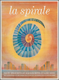"The Spiral (Reggane Films, 1976). French Grande (44.75"" X 61""). Documentary"