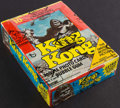 """Non-Sport Cards:Unopened Packs/Display Boxes, 1976 Topps """"King Kong"""" Wax Box With 36 Unopened Packs. ..."""
