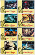 """Movie Posters:Animation, The Lord of the Rings (United Artists, 1978). Lobby Card Set of 8(11"""" X 14""""). Animation.. ... (Total: 8 Items)"""