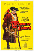 "Movie Posters:Adventure, Treasure Island & Other Lot (Buena Vista, R-1975). Poster (40""X 60"") & One Sheets (3) (27"" X 41""). Adventure.. ... (Total: 4Items)"