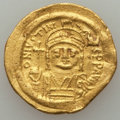 Ancients:Byzantine, Ancients: Justinian I the Great (AD 527-565). AV solidus (4.34gm)....