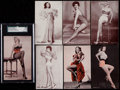 Non-Sport Cards:Sets, 1950's Exhibits Dancers, Models and Actresses Sets Trio (3). ...