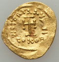 Ancients:Byzantine, Ancients: Heraclius (AD 610-641). AV solidus (1.42 gm)....