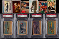 Non-Sport Cards:Singles (Pre-1950), 1940's-1950's Non-Sports Collection (91) With Four Graded Cards....
