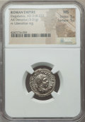 Ancients:Roman Imperial, Ancients: Elagabalus (AD 218-222). AR denarius (3.01 gm). ...