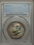 Kennedy Half Dollars, 1983-D 50C MS66 PCGS. PCGS Population (150/33). NGC Census: (31/5).Mintage: 32,472,244. Numismedia Wsl. Price for problem ...