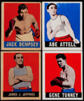 Boxing Cards:General, 1949 Leaf Boxing Collection (39). ...