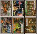 """Non-Sport Cards:Sets, 1962 Topps """"Civil War News"""" Complete Set (88) Plus Currency Set (17)...."""