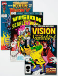 Modern Age (1980-Present):Miscellaneous, Marvel Modern Age Vision and Scarlet Witch Long Box Group (Marvel, 1980-1990s) Condition: Average VF/NM....