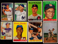 Baseball Cards:Lots, 1952-59 Bowman & Topps Baseball Collection (76)....