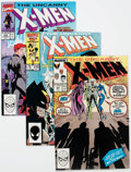 Modern Age (1980-Present):Superhero, X-Men Group of 35 (Marvel, 1981-90) Condition: Average VF....(Total: 35 Comic Books)