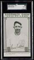 Baseball Cards:Singles (1940-1949), 1948 Baseball's Great HOF Exhibits Eddie Collins SGC 88 NM/MT 8....
