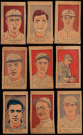 Baseball Cards:Sets, 1926-27 W512 Anonymous Baseball Players Near Set (9/10) With Cobb and Ruth. ...