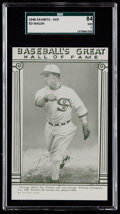Baseball Cards:Singles (1940-1949), 1948 Baseball's Great HOF Exhibits Ed Walsh SGC 84 NM 7....
