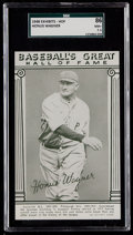 Baseball Cards:Singles (1940-1949), 1948 Baseball's Great HOF Exhibits Honus Wagner SGC 86 NM+ 7.5....