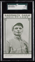 Baseball Cards:Singles (1940-1949), 1948 Baseball's Great HOF Exhibits Rube Waddell SGC 88 NM/MT 8....