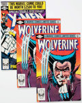 Modern Age (1980-Present):Superhero, Wolverine #1 (Limited Series) and X-Men #137 Group of 7 (Marvel,1980-82) Condition: Average VF/NM.... (Total: 7 Comic Books)