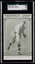 Baseball Cards:Singles (1940-1949), 1948 Baseball's Great HOF Exhibits Christy Mathewson SGC 86 NM+7.5....